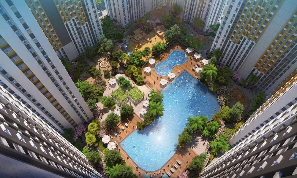 Springlake-Apartment-Bekasi-Inner-Court