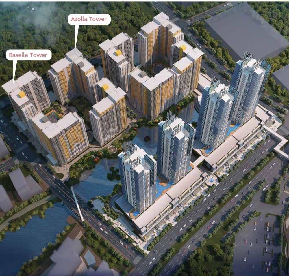 Springlake-Apartment-Bekasi-view-atas